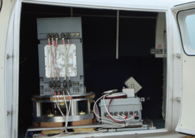 Equipements à bord de l'appareil - UTS Geophysics
